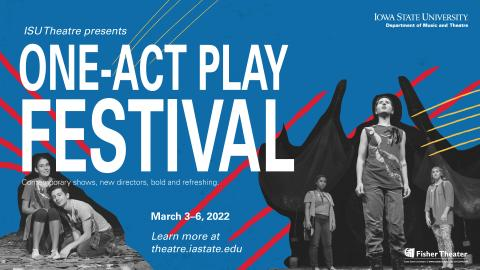 Poster for ONE-ACT PLAY FESTIVAL.