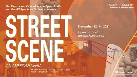 Poster for Street Scene.