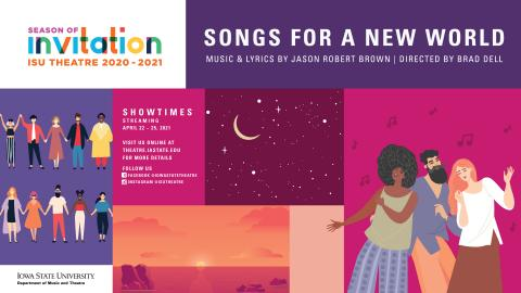 Poster for Songs for a New World.