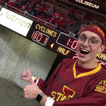 Matthew Lowe, ISU pep band