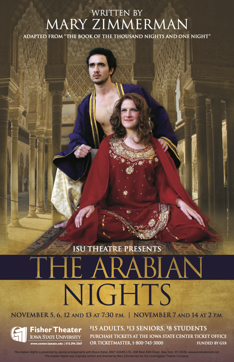 Poster for The Arabian Nights.