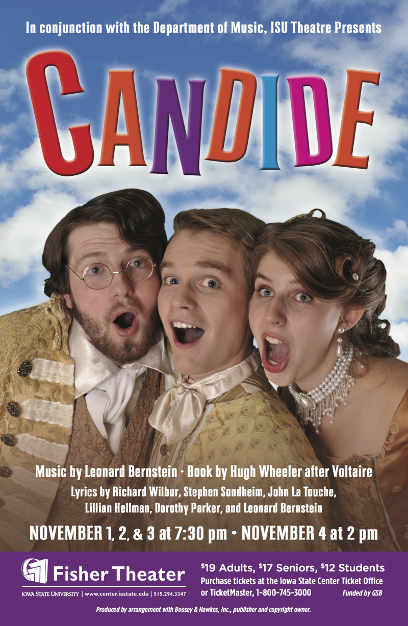 Poster for Candide.