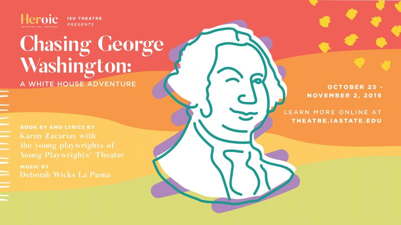 Poster for Chasing George Washington: A White House Adventure.