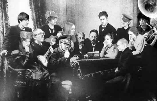 Poster for Chekhov Short Stories.