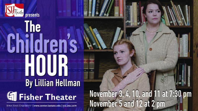 Poster for The Children's Hour.
