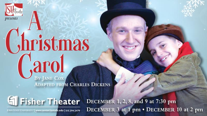 Poster for A Christmas Carol.
