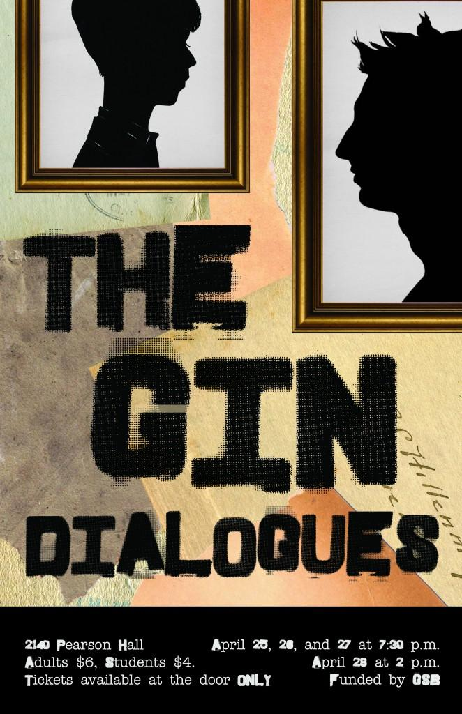 Poster for The Gin Dialogues.