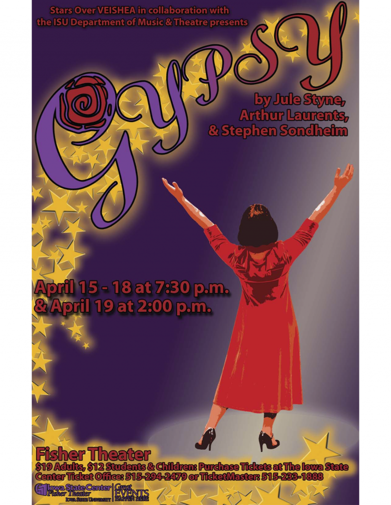 Poster for Gypsy.