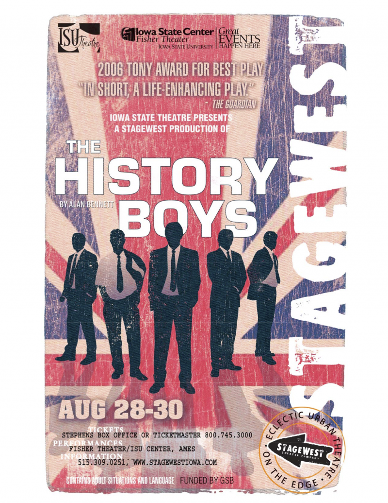 Poster for The History Boys.