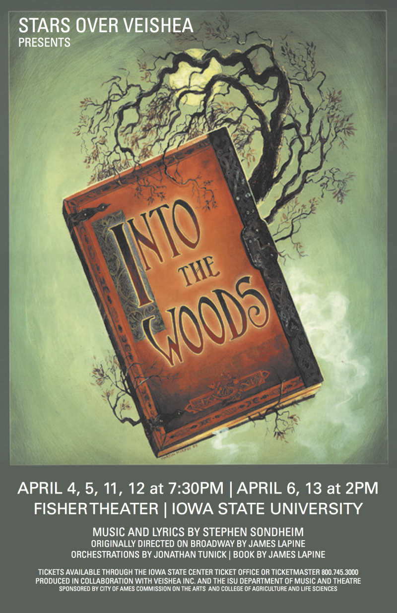 Poster for Into the Woods.