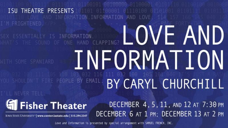 Poster for Love and Information.