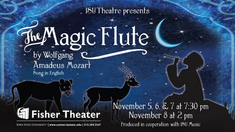 Poster for The Magic Flute.