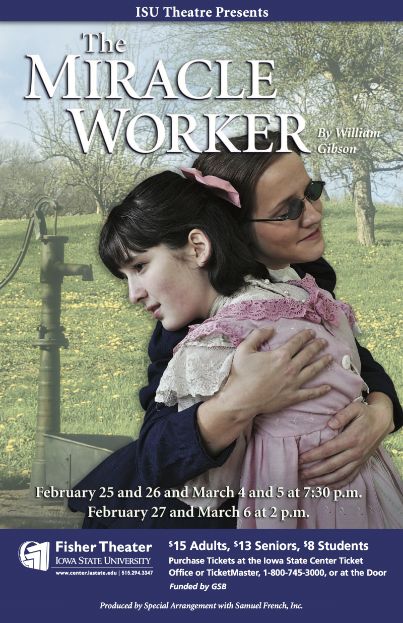 Poster for The Miracle Worker.