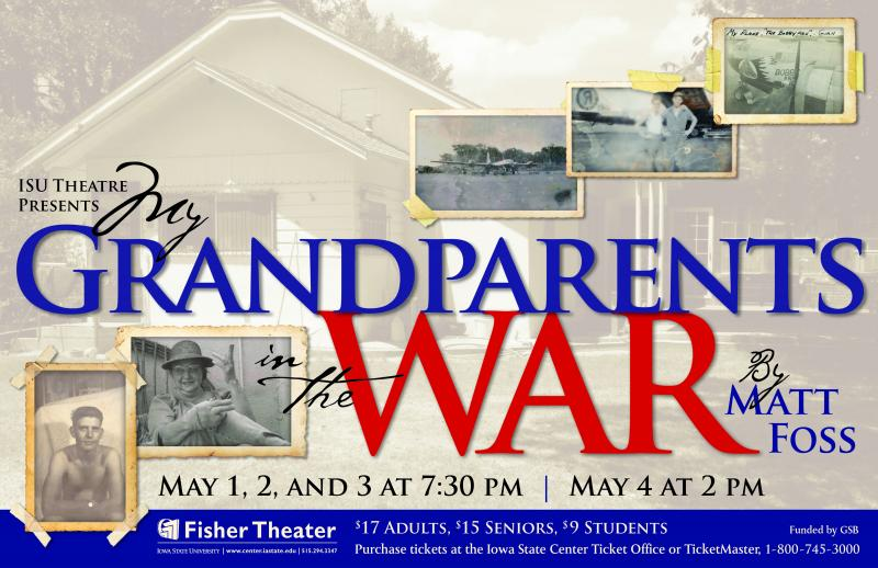 Poster for My Grandparents in the War.