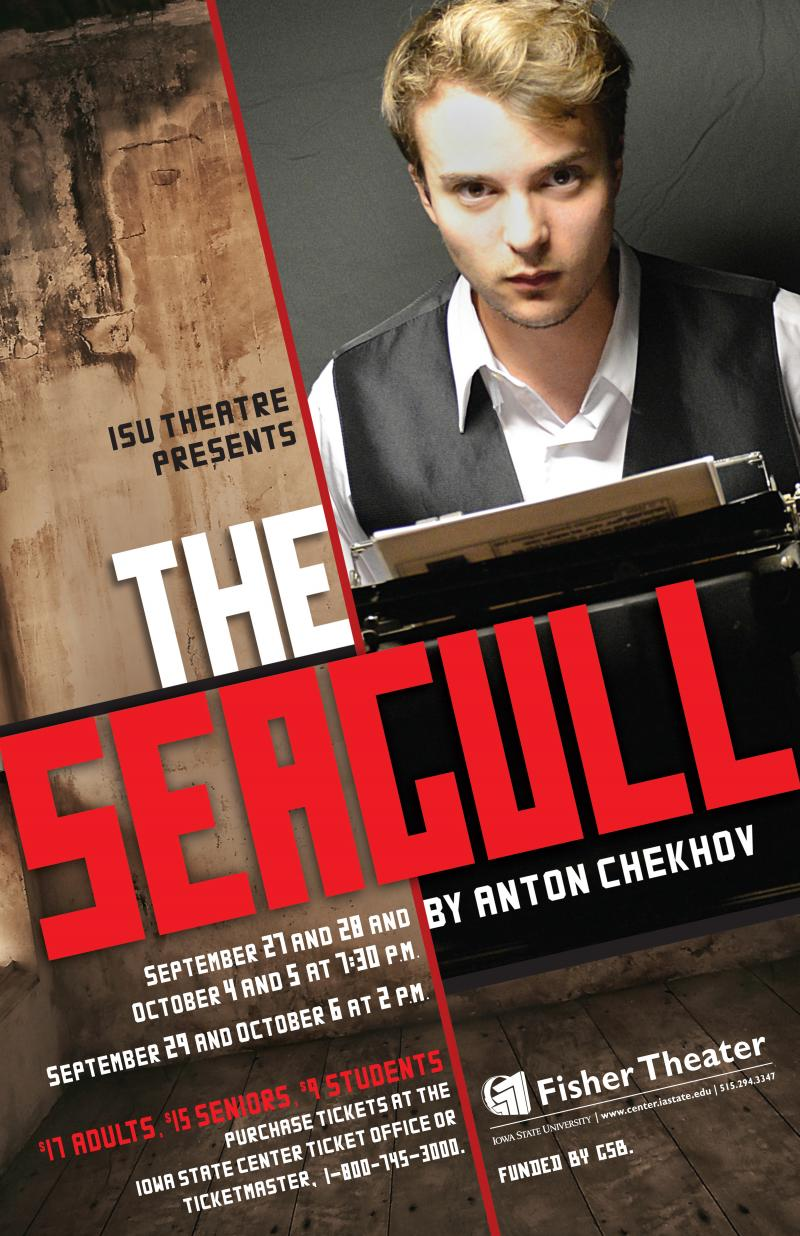 Poster for The Seagull.