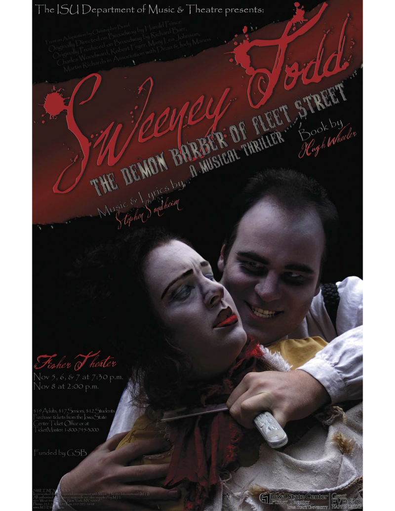 Poster for Sweeney Todd.
