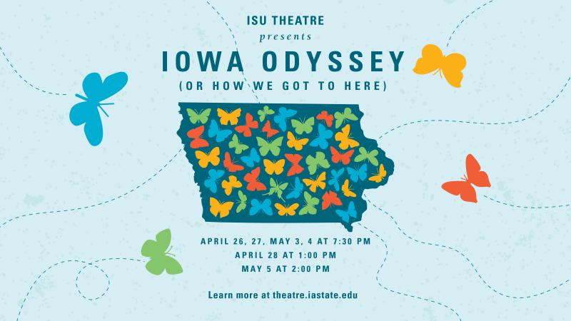 Poster for Iowa Odyssey (or How We Got to Here).