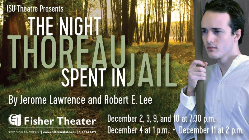 Poster for The Night Thoreau Spent in Jail.