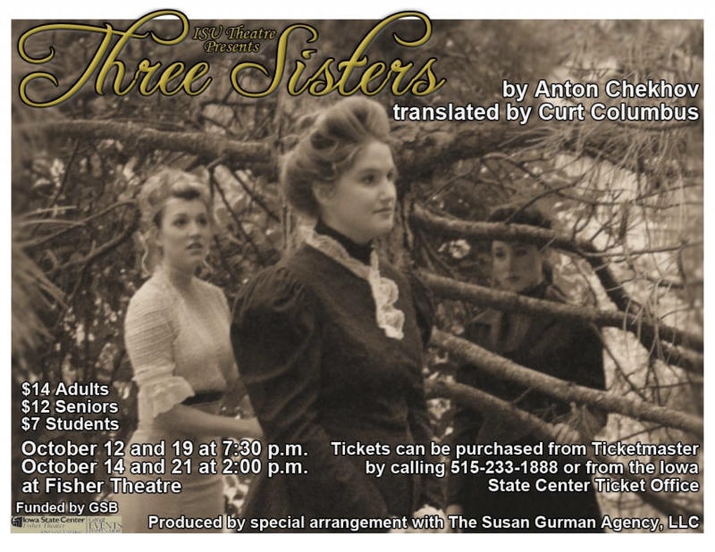 Poster for Three Sisters.