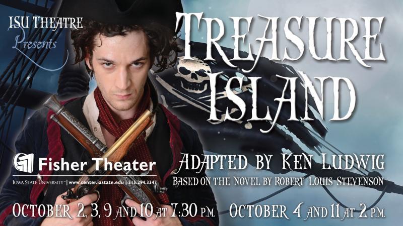 Poster for Treasure Island.